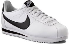 Buty NIKE - Classic Cortez Leather 807471 101 White/Black/White