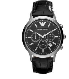 Zegarek EMPORIO ARMANI - Renato AR2447  Black/Silver/Steel
