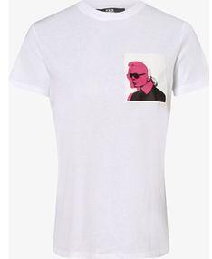Karl Lagerfeld bluzka damska z krótkim rękawem