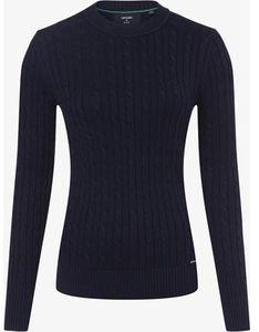 Granatowy sweter damski Superdry kaszmirowy