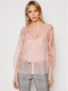 Marella Koszula Lerici 31113711200 Różowy Regular Fit