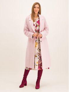 Laurèl Płaszcz przejściowy 92029 Różowy Regular Fit