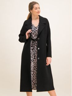 Laurèl Płaszcz przejściowy 91002 Czarny Regular Fit