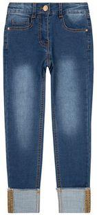 Primigi Jeansy BLACK COUTURE More Glitter 44123631 Granatowy Regular Fit