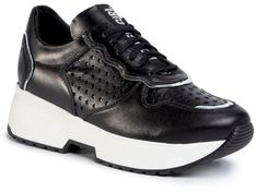Sneakersy KARINO - 3322/076-P Czarny