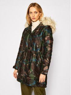 Guess Parka Trudy W0BL63 W94M0 Kolorowy Regular Fit