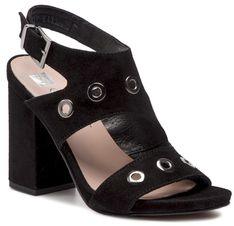 Sandały NESSI - 19566 Czarny 19