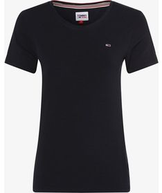 Bluzka damska Tommy-jeans czarny