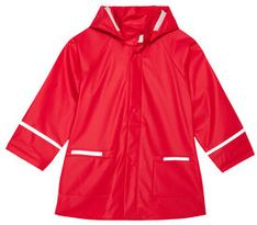 Playshoes Kurtka przeciwdeszczowa 408638 Czerwony Regular Fit
