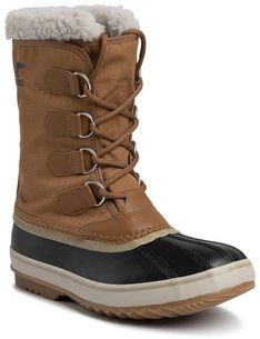 Śniegowce SOREL - 1964 Pac Nylon NM3487 Camel Brown/Black 224