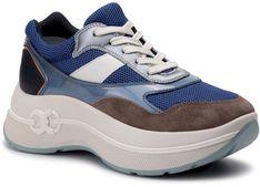 Sneakersy TORY BURCH - Gemini Link Platform Sneaker 56675 Multi Color/Regal Blue 972