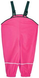 Playshoes Spodnie przeciwdeszczowe 405424 M Różowy Regular Fit