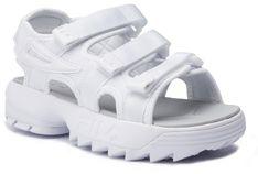 Sandały FILA - Disruptor Sandal Wmn 1010611.1FG White