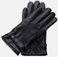 Granatowe rękawiczki męskie