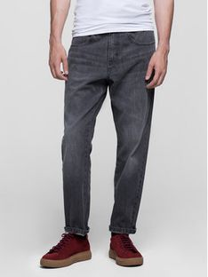 Vistula Jeansy Relaxed Fit Harrison XA0616 Szary Relaxed Fit