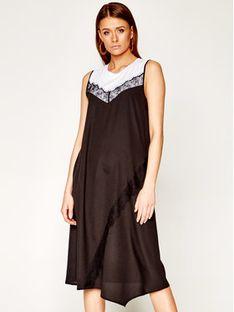 DKNY Sukienka codzienna P0BD7FMK Czarny Regular Fit