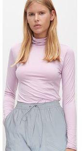 Bluzka damska Reserved z golfem z długim rękawem