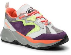 MSGM Sneakersy Attack Sneakers 2642MDS2086 700 74 Kolorowy