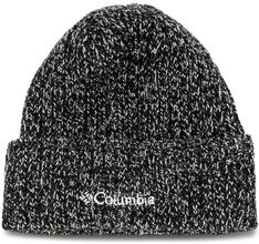 Czapka COLUMBIA - Watch Cap 1464091 Black And White Marled 012