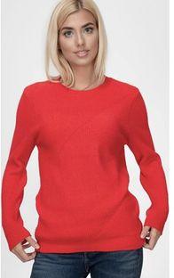 Sweter damski Lee Cooper z okrągłym dekoltem