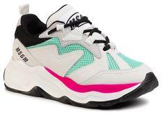 MSGM Sneakersy Scarpa Donna 2841MDS2086 708 83 Szary