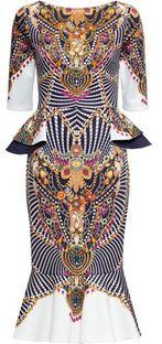 Sukienka Bonprix z baskinką