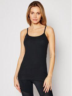 Triumph Top Katia Basics 10181825 Czarny Slim Fit