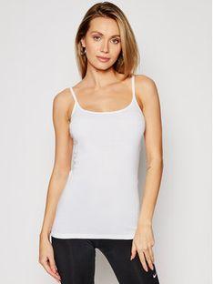 Triumph Top Katia Basics 10181825 Biały Slim Fit