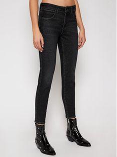 Wrangler Jeansy Skinny Fit On A Break W28KMA21V Czarny Skinny Fit