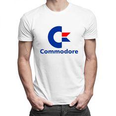 Commodore - damska lub męska koszulka z nadrukiem