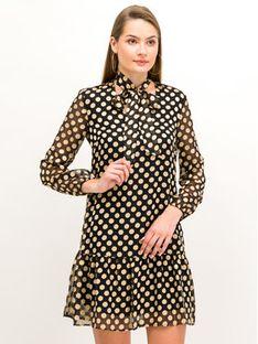 Pennyblack Sukienka koktajlowa Malizia 12245019 Czarny Regular Fit