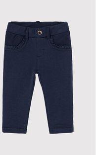 Mayoral Spodnie materiałowe 550 Granatowy Super Skinny Fit