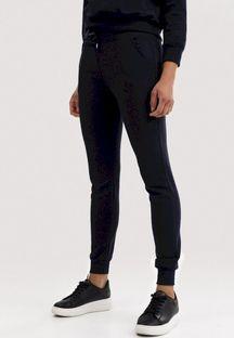 Granatowe Spodnie Dresowe Driftbelle