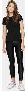 Spodnie damskie czarne Outhorn gładkie w sportowym stylu