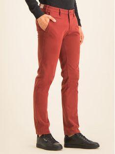 Digel Spodnie materiałowe 88140 Czerwony Regular Fit