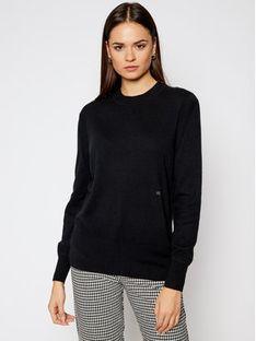 Calvin Klein Sweter K20K201347 Czarny Regular Fit