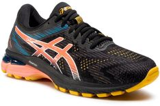 Buty ASICS - Gt-2000 8 Trail 1011A671 Black/Sunrise Red 004