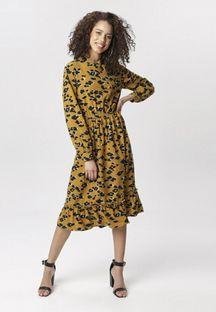 Żółta Sukienka Rising Heart
