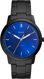 Zegarek FOSSIL - The Minimalist 3H FS5693 Black/Black