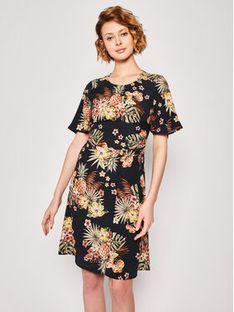 Liu Jo Sukienka codzienna FA0116 T5628 Czarny Slim Fit