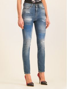 Emporio Armani Jeansy Slim Fit 6G2J20 2D2PZ 0941 Granatowy Slim Fit