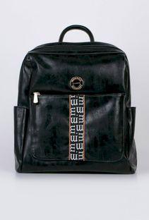 Casualowy plecak z paskiem z logo