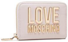Duży Portfel Damski LOVE MOSCHINO - JC5613PP1CLJ010A Avorio