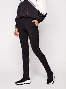 TwinSet Spodnie dresowe 202TT2T65 Czarny Regular Fit