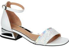 Sandały damskie ze skóry