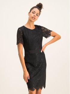 Hugo Sukienka koktajlowa Kleas-1 50421122 Czarny Regular Fit