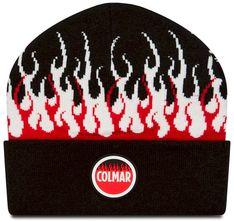Czapka COLMAR - 5030 5VN Black/White/Red 99