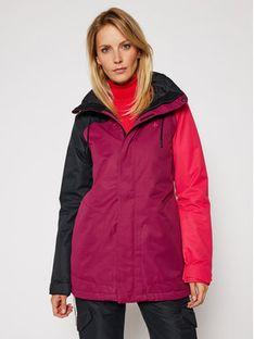Volcom Kurtka narciarska Westland H0452113 Fioletowy Long Fit