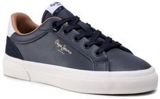 Sneakersy PEPE JEANS - Kenton Classic Boy PBS30467  Navy 595