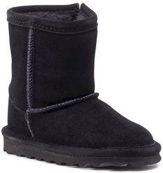 Buty BEARPAW - Elle Toddler Zipper 1962TZ Black II 011